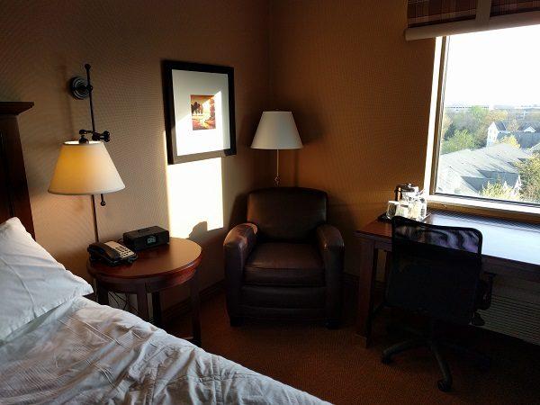 Sheraton Herndon Dulles Airport Club King Room Armchair