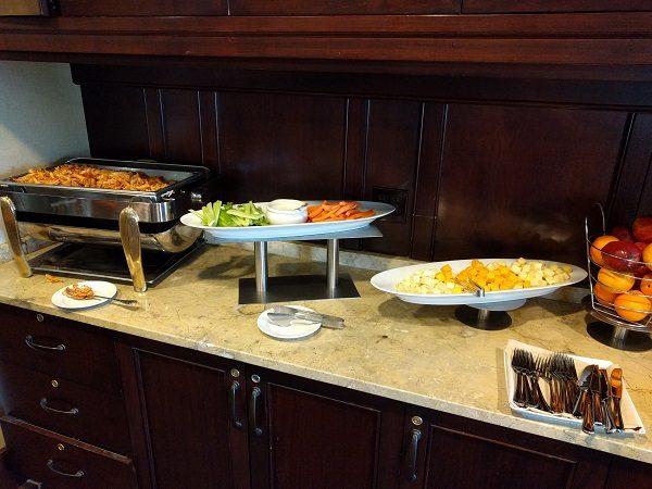 Sheraton Herndon Dulles Airport Club Lounge Evening Snacks