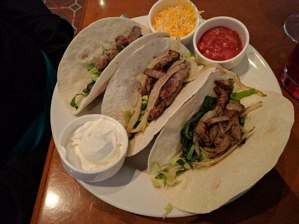 Sheraton Herndon Dulles Airport Restaurant Tacos