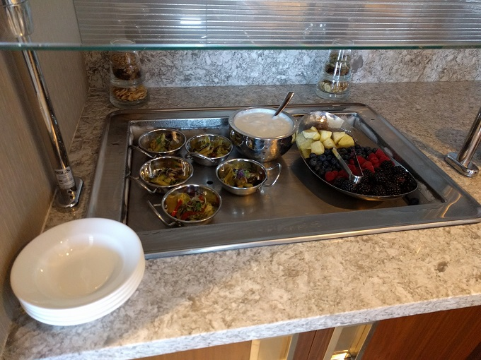 Hilton Norfolk Empyrean Lounge food 1