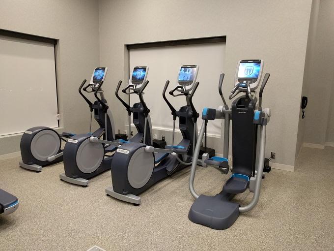 Hilton Norfolk gym