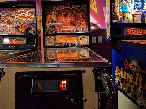 Indiana Jones Pinball Machine