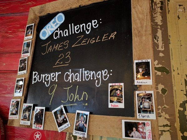 Jack Brown's Oreo and burger challenges