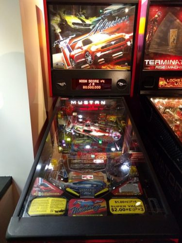 Mustang Pinball Machine