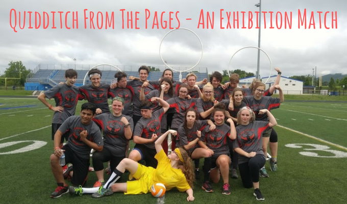 Quidditch From The Pages - An Exhibition Match