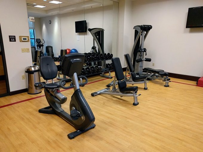 Sheraton Herndon Dulles Airport Gym
