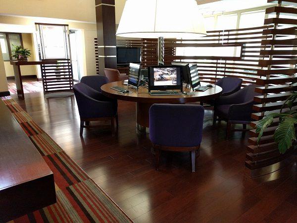 Sheraton Roanoke business center