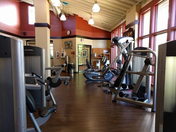 Sheraton Roanoke gym