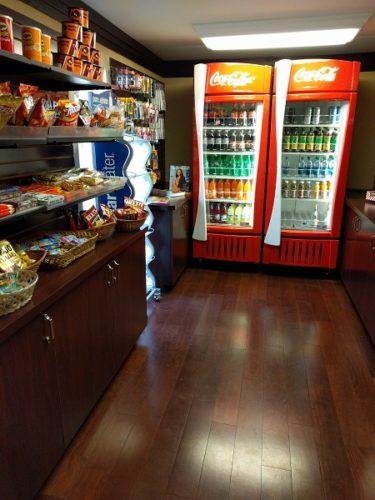 Sheraton Roanoke pantry