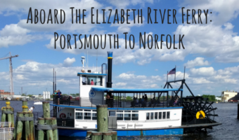 Aboard The Elizabeth River Ferry: Portsmouth To Norfolk