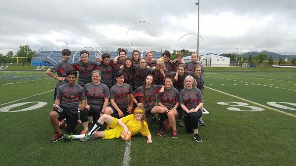 The Quidditch team - Community High Dragons