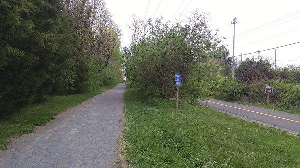 Washington and Old Dominion Trail Pet Friendly Walking Trail