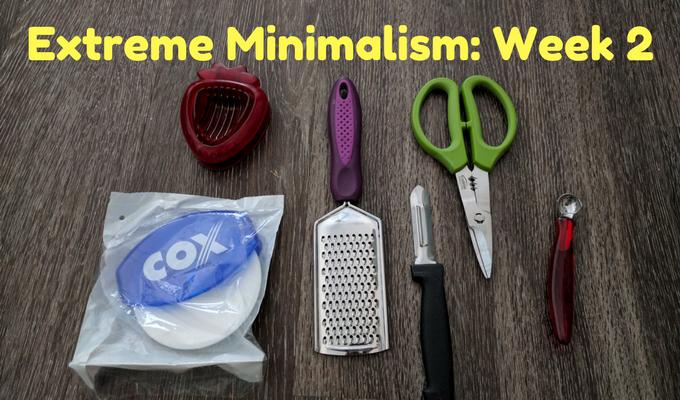 Extreme Minimalism Week 2