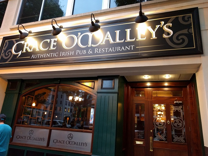 Review grace o malley s irish pub restaurant norfolk
