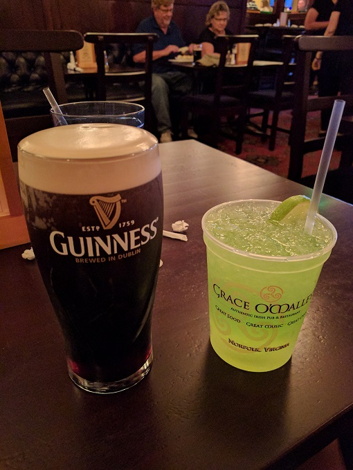 Guinness and The Shamrock crush