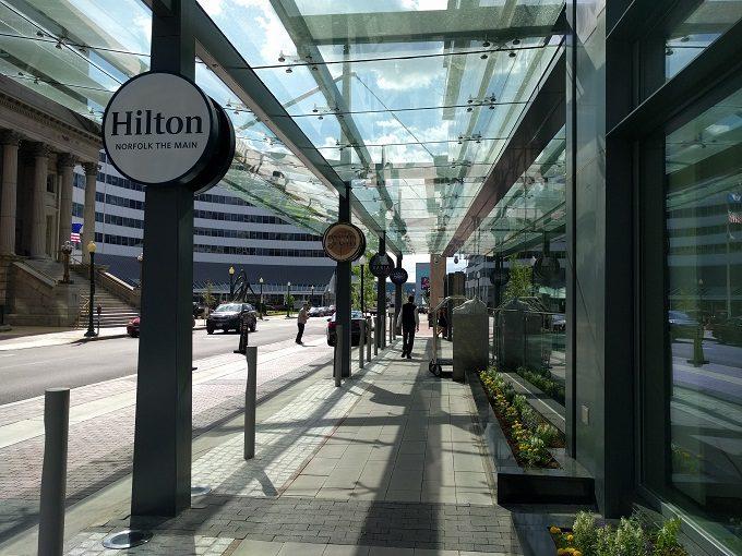 Hilton Norfolk The Main exterior