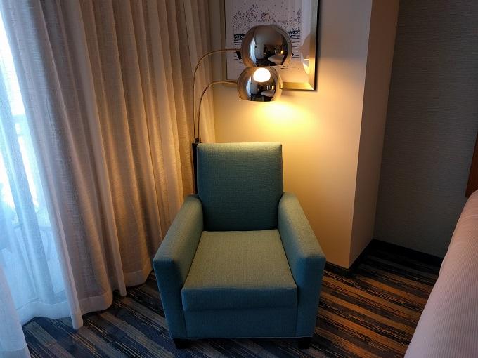 Hyatt House Virginia Beach Bedroom armchair