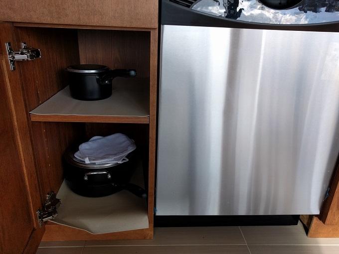 Hyatt House Virginia Beach Kitchen cupboards 2