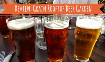 Review: Grain Rooftop Beer Garden