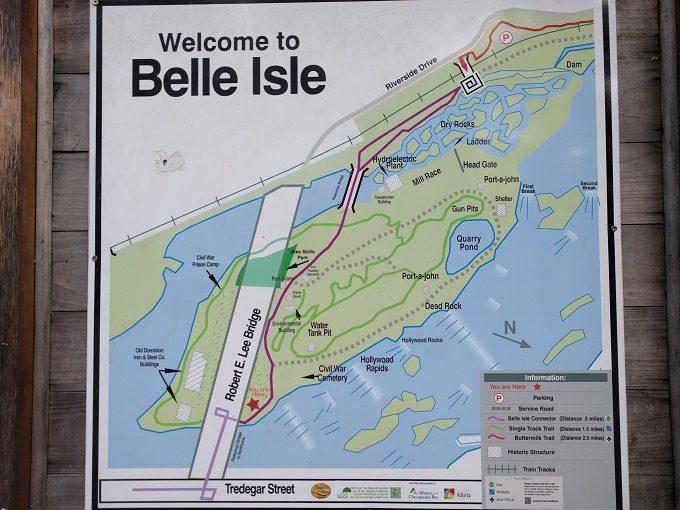 13 - Belle Isle map