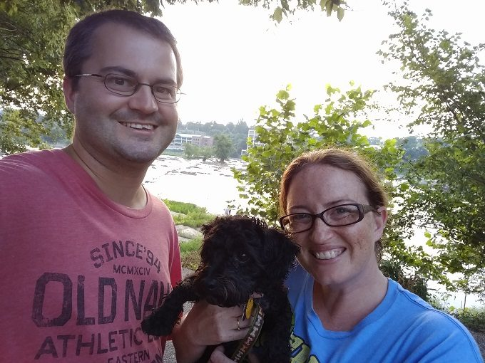 19 - Family selfie at Belle Isle