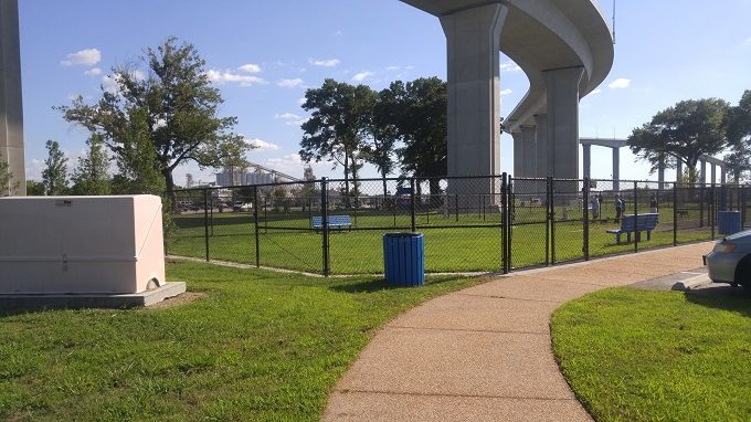 24 - There are two enclosed dog parks - one for larger dogs and one for small dogs