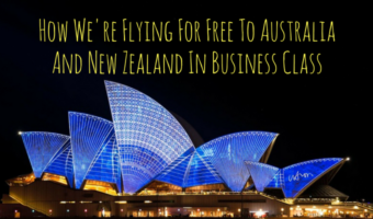 How We're Flying For Free To Australia And New Zealand In Business Class