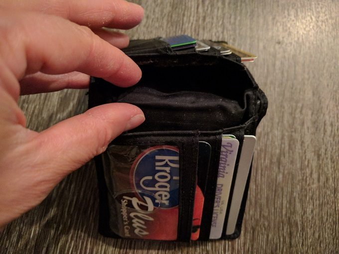 Big Skinny Wallet - space for additional cards