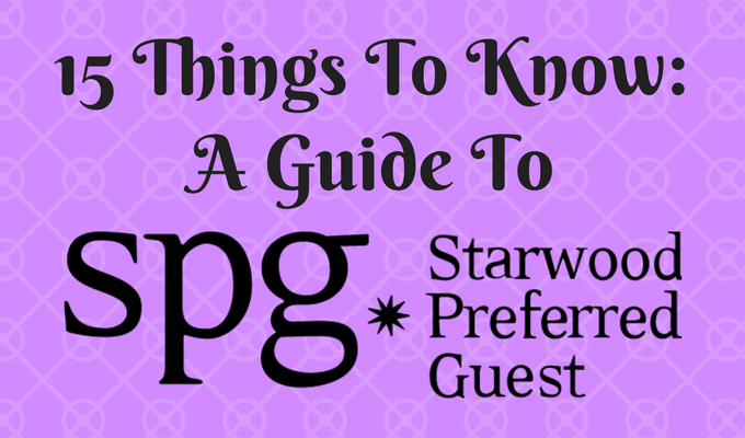 Guide To SPG