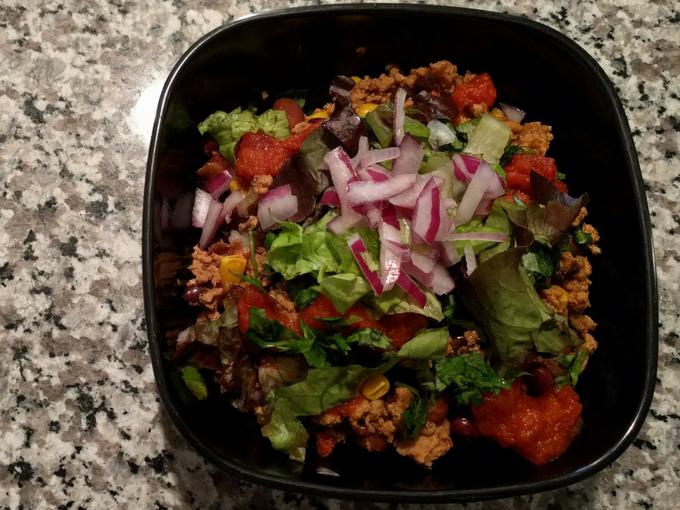 Instant Pot burrito bowl