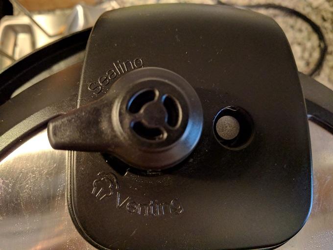 Instant Pot valve