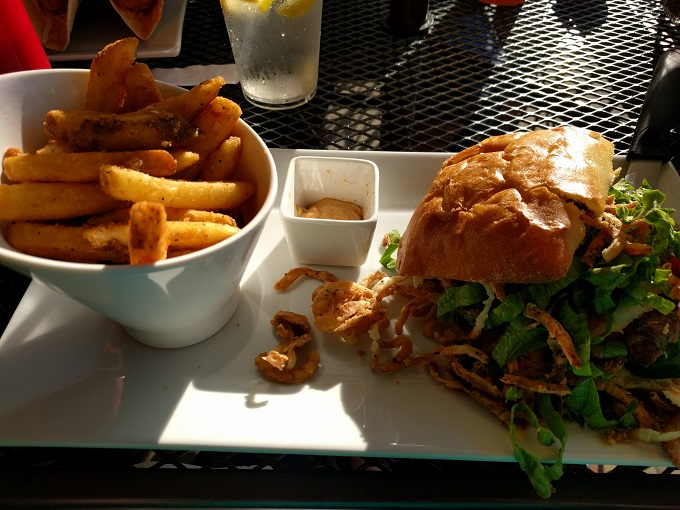 Lunasea Virginia Beach Duvall Steak Sandwich