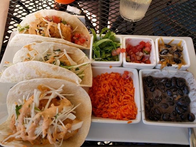 LunaSea Virginia Beach fish tacos