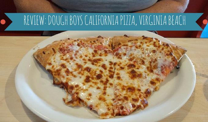 Review Dough Boys California Pizza Virginia Beach