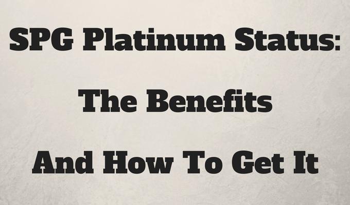 SPG Platinum Status