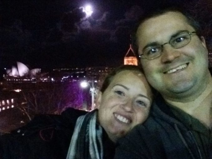 Shae and Stephen in Sydney