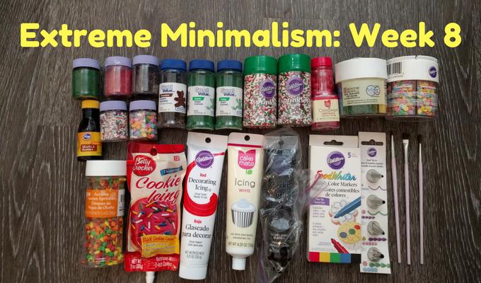 Extreme Minimalism Week 8