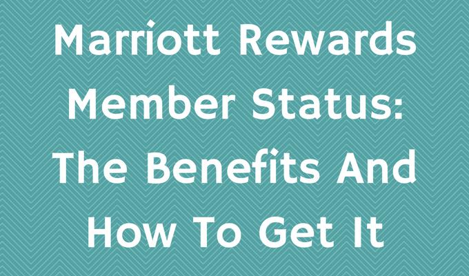 Marriott Rewards Member Status