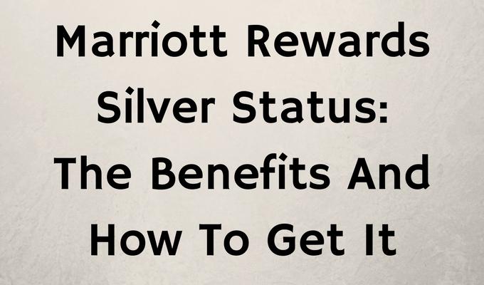 Marriott Rewards Silver Status