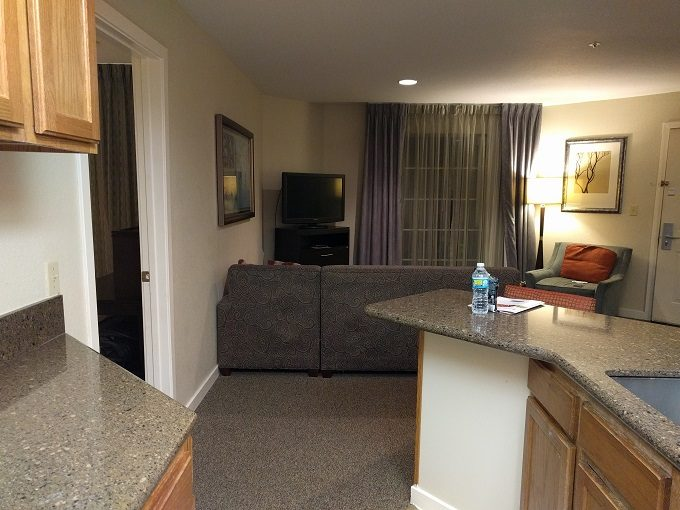 Staybridge Suites Herndon Dulles open plan layout