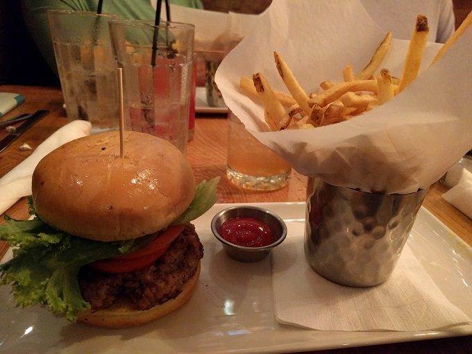 The Squealer burger