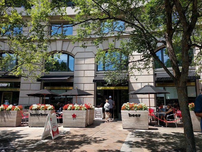 b Restaurant DC Penn Quarter
