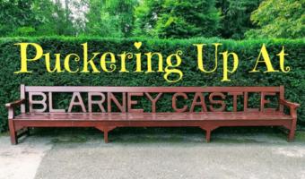 Puckering Up At Blarney Castle