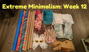 Extreme Minimalism: Week 12 – Random Crap Edition