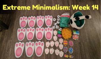 Extreme Minimalism: Week 14 – Easter In September Redux Edition