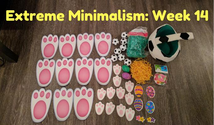 Extreme Minimalism Week 14