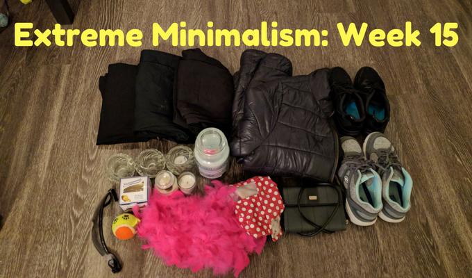 Extreme Minimalism Week 15
