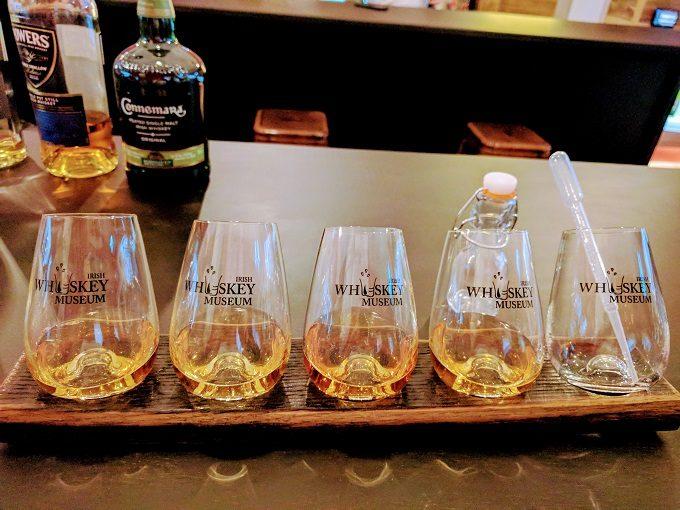 Irish Whiskey Museum, Dublin - blending session