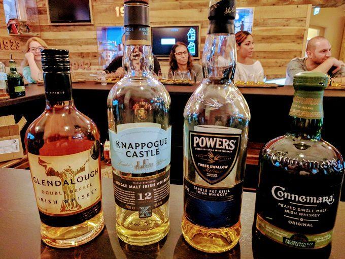 Irish Whiskey Museum, Dublin - blending whiskeys