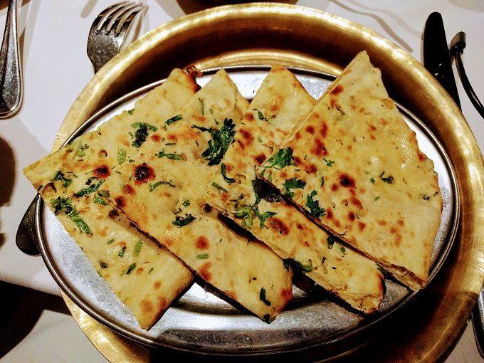 Monty's of Kathmandu - kulcha (stuffed naan bread)